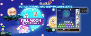 MapleStory Global: Potion Pyramid and Wisp Wallop Events